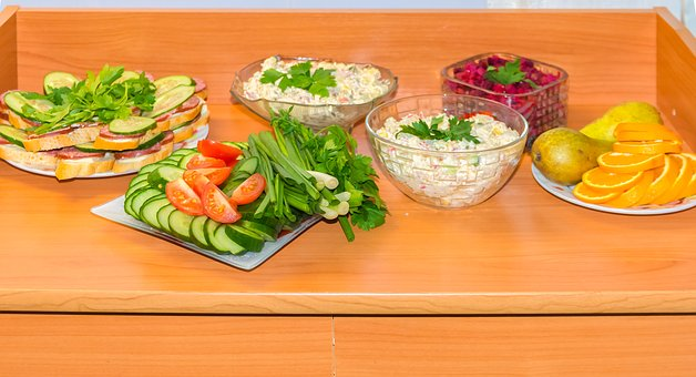 Salad, Dishes, Nutrition, Healthy, Delicious, Appetizer