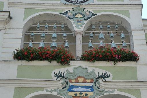 Carillon, Chimes, Ceramics, Gmunden, Austria