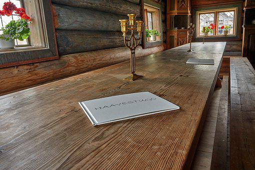 Table, Board, Wood, Long, Table Decoration, Festival