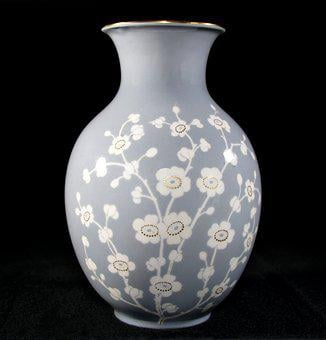 Vase, Flower Vase, Porcelain, Floral Decor, Decorative