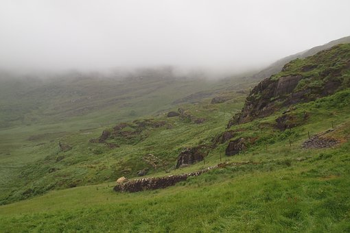 Mist, Mountain, Hill, Nature, Landscape, Fog, Clouds