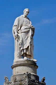 Alessandro Volta, Monument, Como, Lombardy, Italy