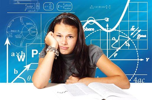 School, Bored, Girl, Education, Knowledge, Unfocused