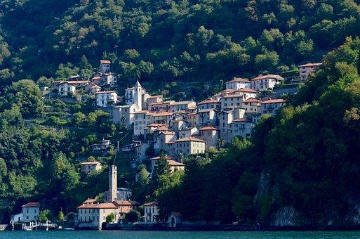Italy, Lombardy, Vacations, Lake, Village, Bergdorf