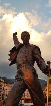 Freddy Mercury, Montreux, Statue, Singer, Lead Singer