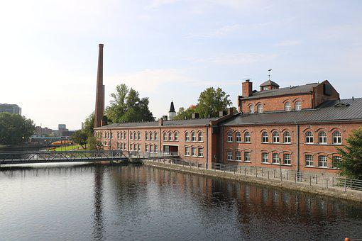 Architecture, Factory, Old, Channel, Building