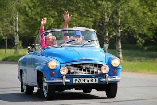 Auto, Old, Skoda, Veteran, Vehicle, Oldtimer, Retro