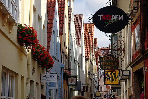 Bremen, Schnoor, Historic Center, Places Of Interest