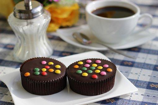 Coffee, Coffee Cup, Cook, Chocolate, Sugar, Roses