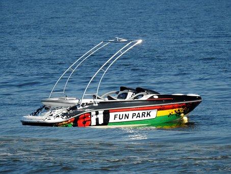 Sea, Motorboat, Water, Travel, Motor, Summer, Holiday
