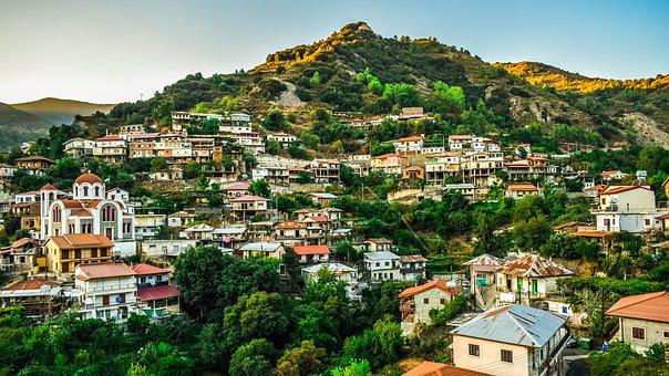 Cyprus, Moutoullas, Village, Troodos, Countryside