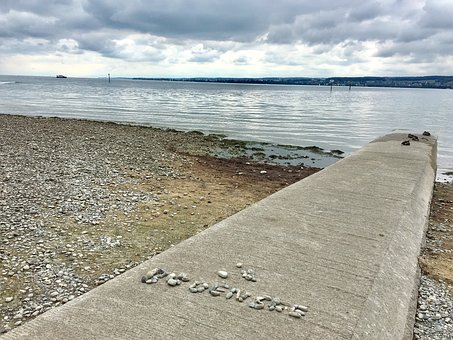 Stone, Lake, Water, Lake Constance, Constance, Horn