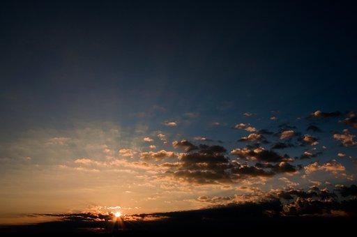 Weather, Nature, Sunlight, Mood, Sky, Sunbeam, Color
