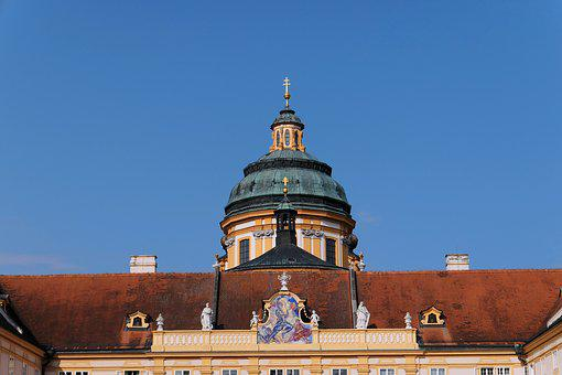 Pin Melk, Monastery, World Heritage, Church