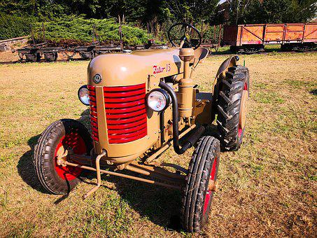 Tractor, Zetor, Agriculture, Technique, Machines