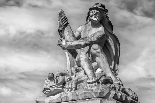 Sculpture, Man, Statue, Figure, Baroque, Stone, Artwork