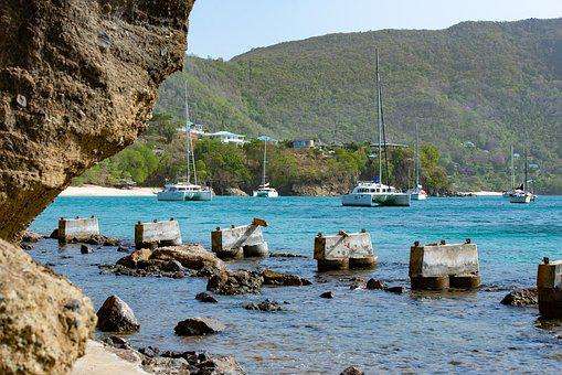 St Vincent And The Grenadines, Bequia, Yacht
