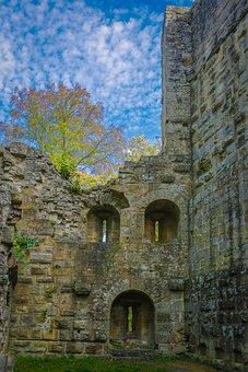 Blankenhorn, Burgruine, Castle, Ruin, Middle Ages
