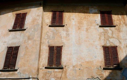 Italy, House Facade, Facade, Building, Shutters, Window