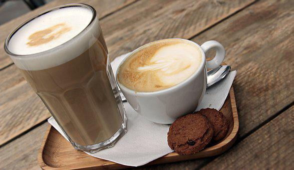 Latte Macchiato, Cappuccino, Coffee, Cafe, Drink