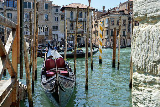 Venice, Channel, Canal, Italy, Water, Architecture