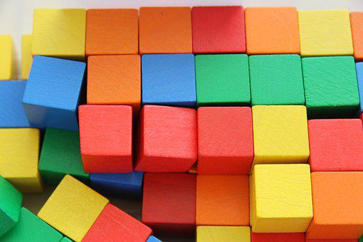 Building Blocks, Block, Colorful