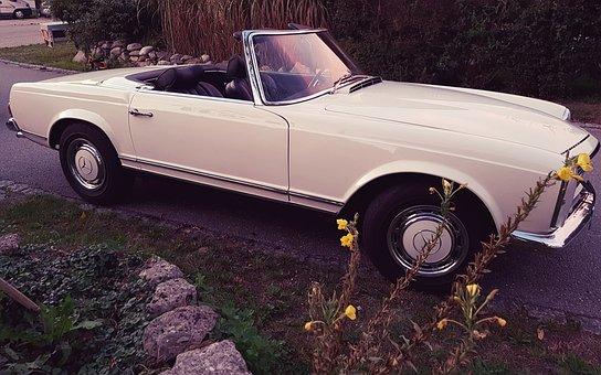 Cabriolet, Mercedes, Oldtimer, Auto, Elegance