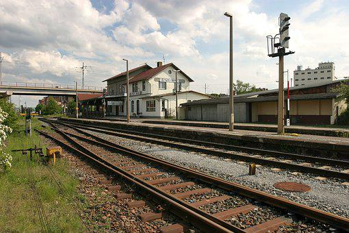 Erfurt, North Station, Railway Station