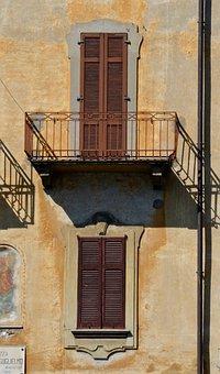 House Facade, Italy, Architecture, Facade, Building