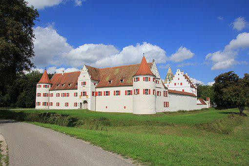 Architecture, Castle, Hunting Lodge, Grünau, Neuburg A