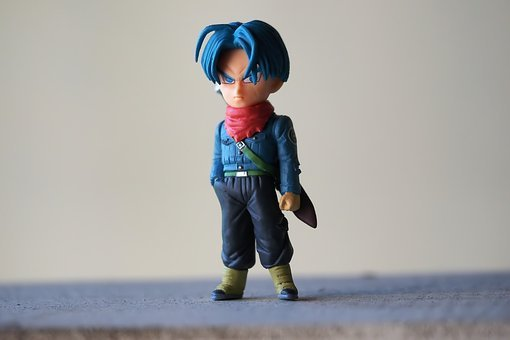 Trunks, Toy, Figurine, Male, Boy, Man, Japanese, Anime