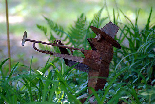 Jazz Frog Garden Ornament, Garden, Frog, Amphibian