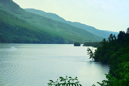 Lake George, Ny, Scenic, Water, Mountains