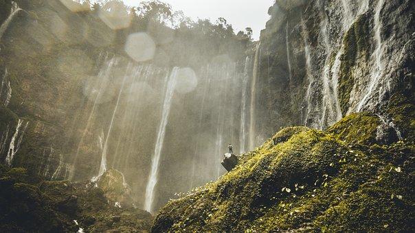 Waterfall, Giant Waterfall, Nature, Landscape, Water