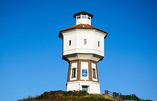 Langeoog Water Tower, Langeoog, North Sea