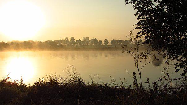 Mysticism, Mood, Weser, Fog, Moment, Morning Haze