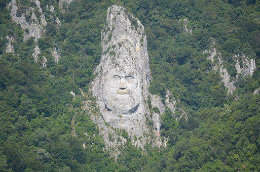 Decebalus, Mountain, Rock, Sculpture