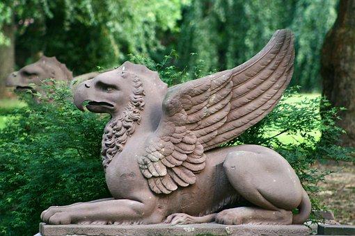 Alsace, Munster, Park, Rock Carving, Stone Figure