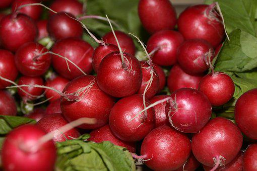 Radishes, Vegetables, Healthy, Food, Vitamins