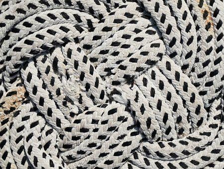 Rope, Connect, Solid, Detail, Background, Maritime