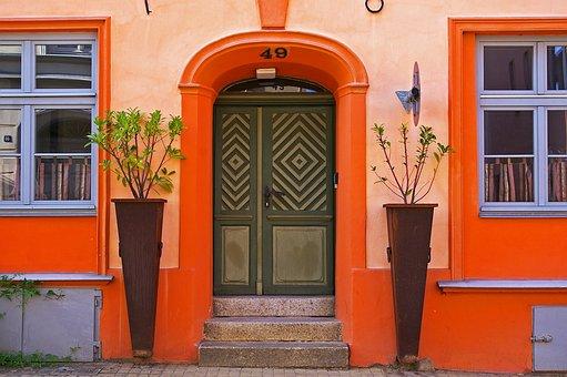 Entrance Door, Historic Center, Stralsund