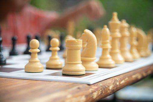 Chess Board, Chess, Strategy, King, White, Board Game