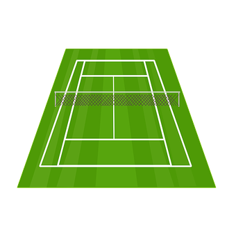 Tennis Court, Tennis, Net, Court, Sport, Field, Grass