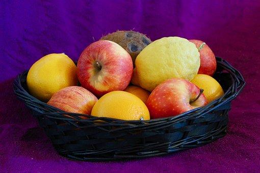 Recycle Bin, The Fruit Bowl, Apple, Apples, Orange