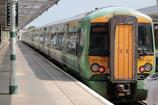 Train Station, Southern Rail, Bognor Regis, Train
