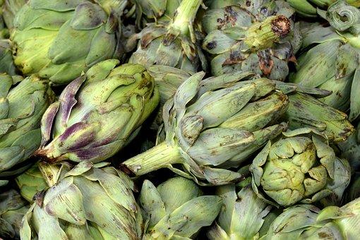 Artichokes, Vegetables, Food, Healthy, Vitamins