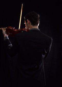 Violin, Music, Classic, Chains, Instrument, Musician