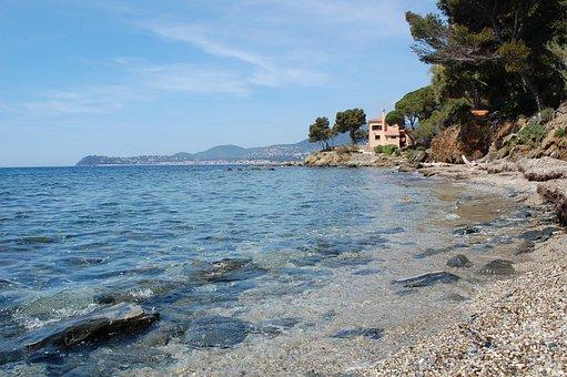 Beach, Sea, Mediterranean, Summer, Water, Coast, Nature