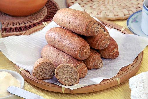 Whole Wheat Bread, Snack, Food, Bread, Healthy