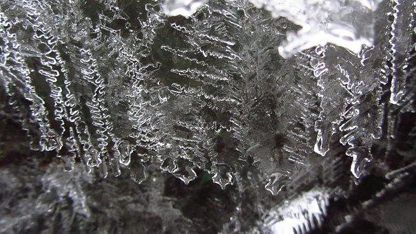Nature, Ice, Crystal, Cold, Frozen, Winter, Water